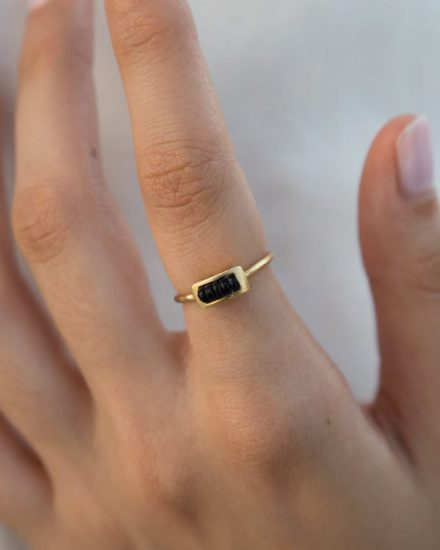 Multi Wire gold ring
