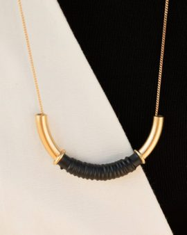 Coil Gold Necklace