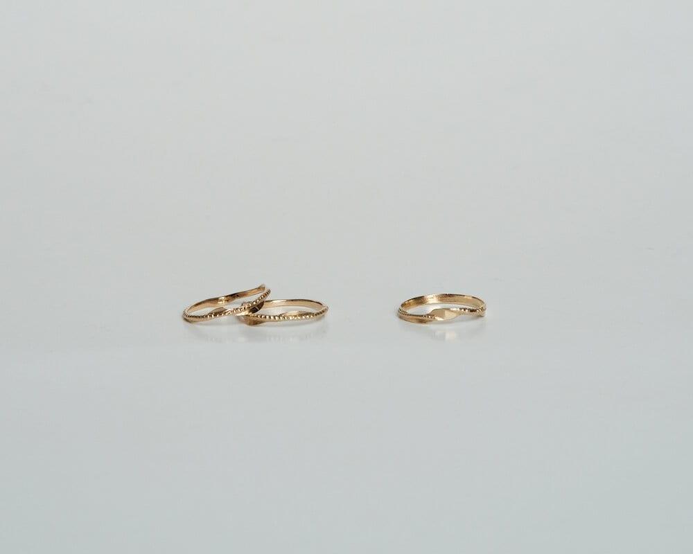 טבעת פיליגרן זהב