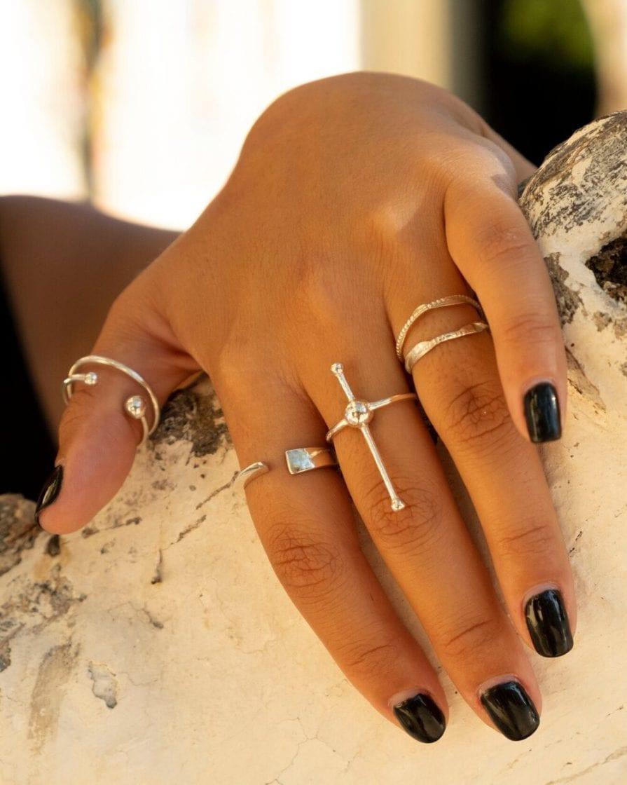 טבעת שביל החלב כסף