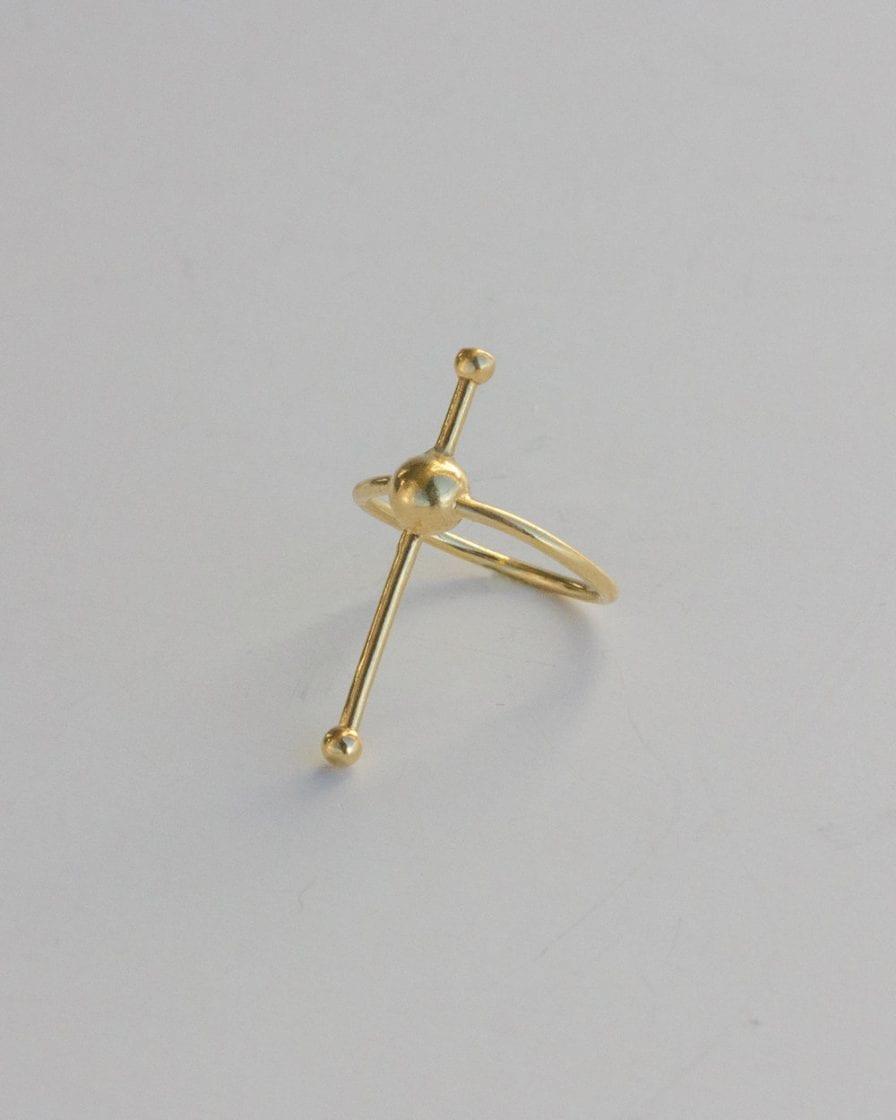 טבעת מאדים זהב