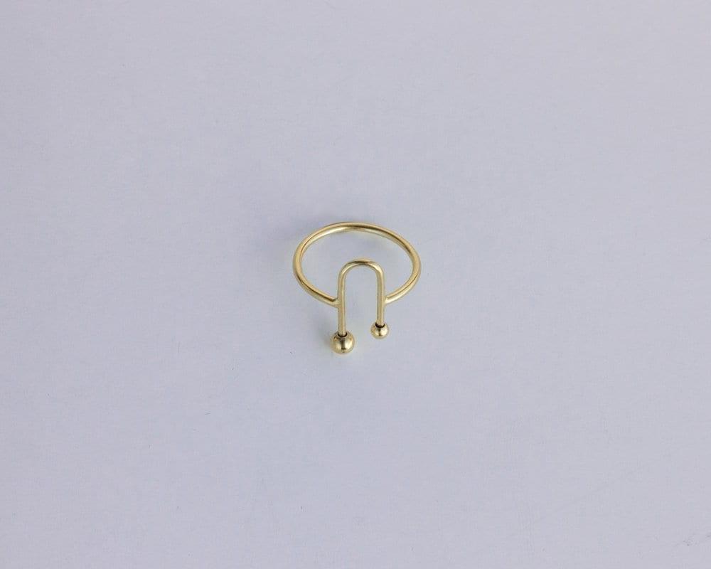 טבעת אנדרומדה זהב
