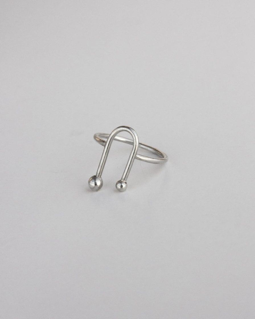 Andromeda Silver Ring
