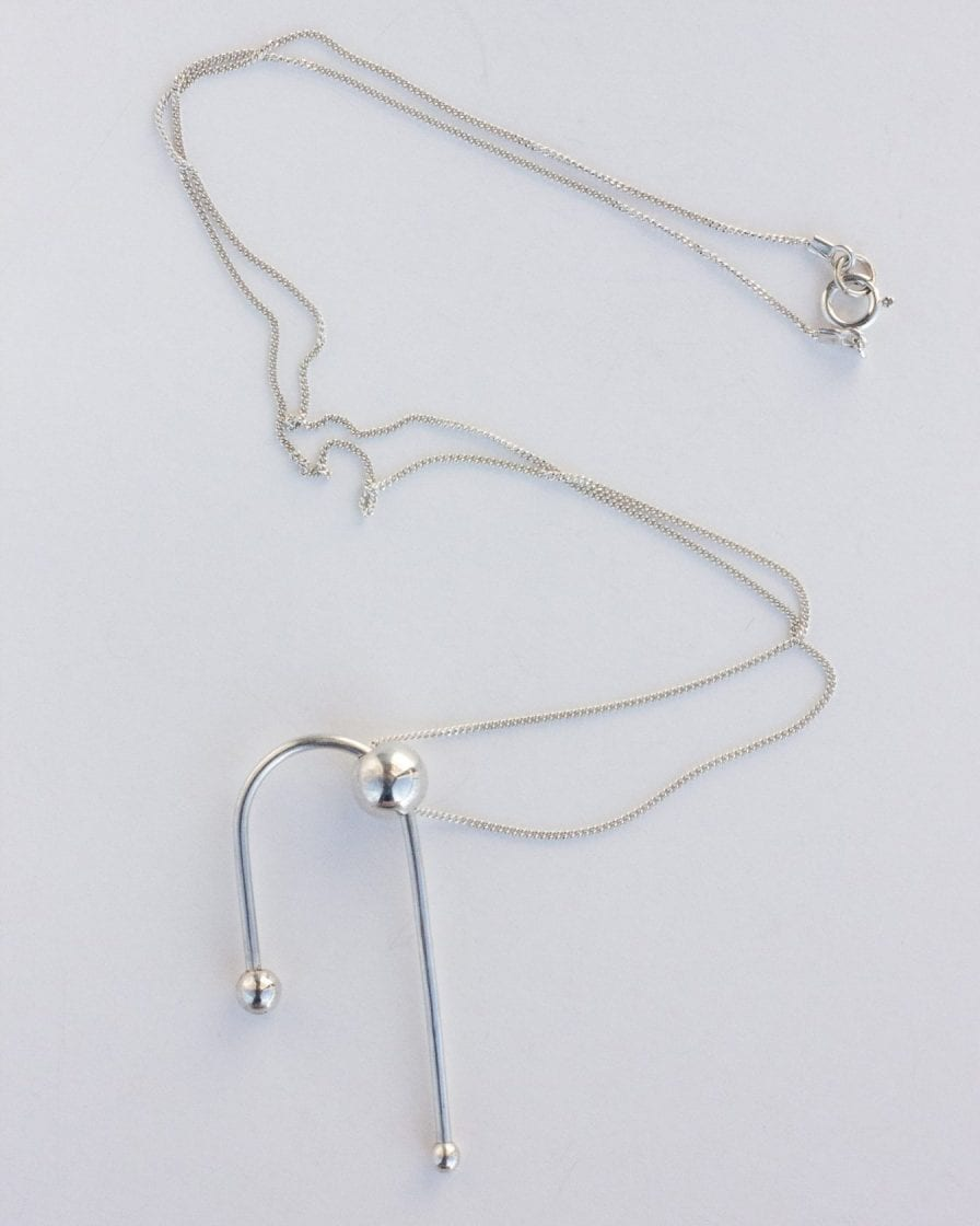 Andromeda Silver Necklace
