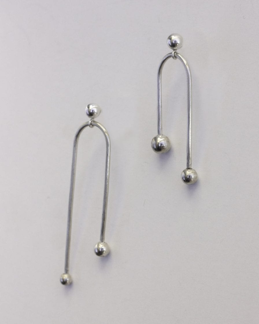 Andromeda Silver Earrings