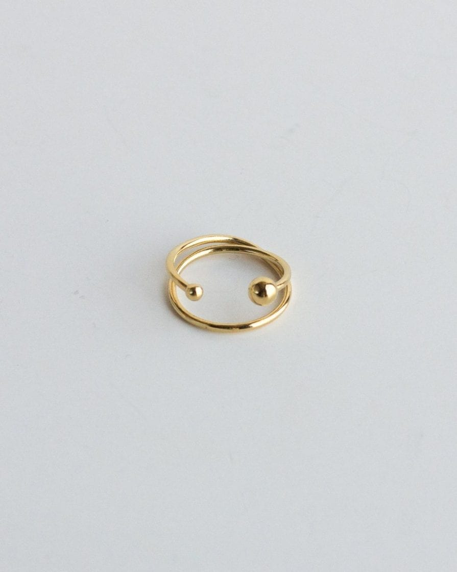 Milky Way Gold Ring