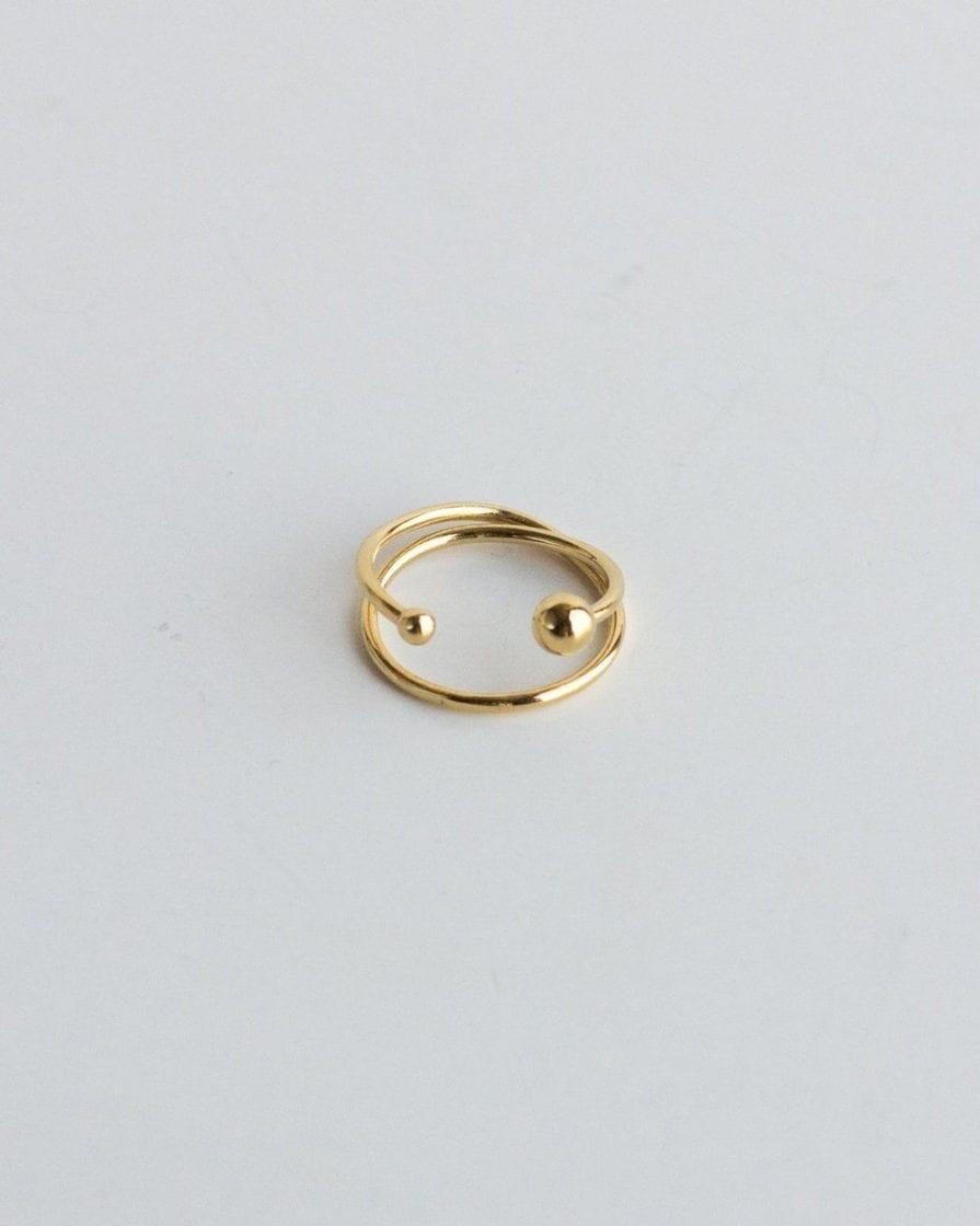טבעת שביל החלב זהב