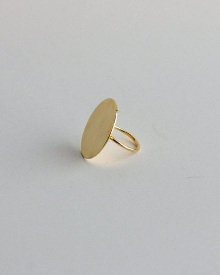 Moon Gold Ring