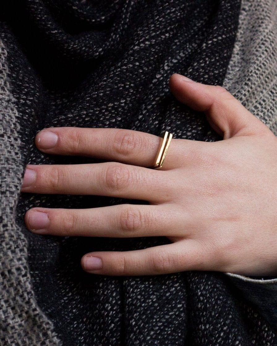 טבעת רפליקה זהב