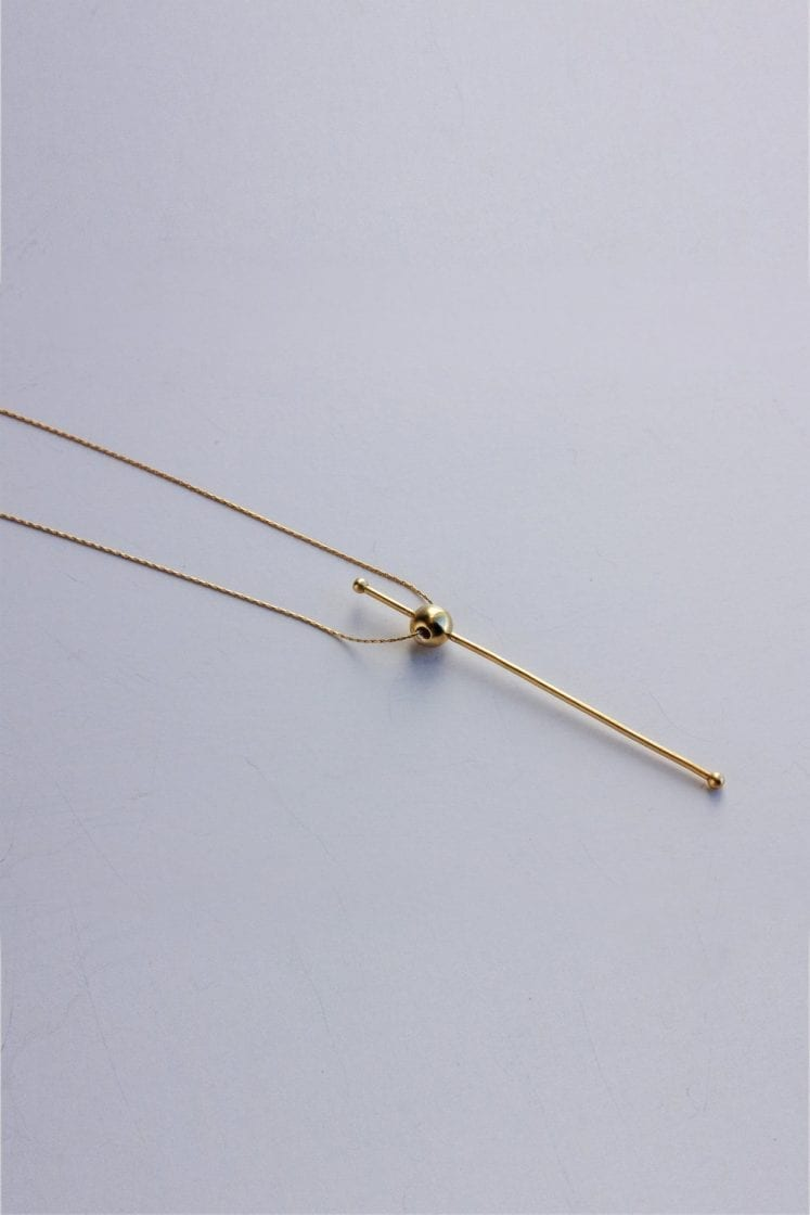 Mars Gold Necklace