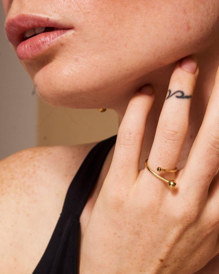 טבעת ונוס זהב