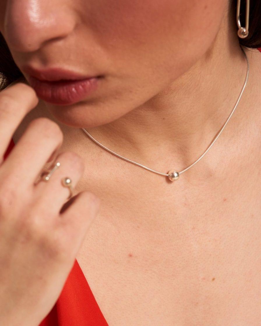 Venus Silver Necklace