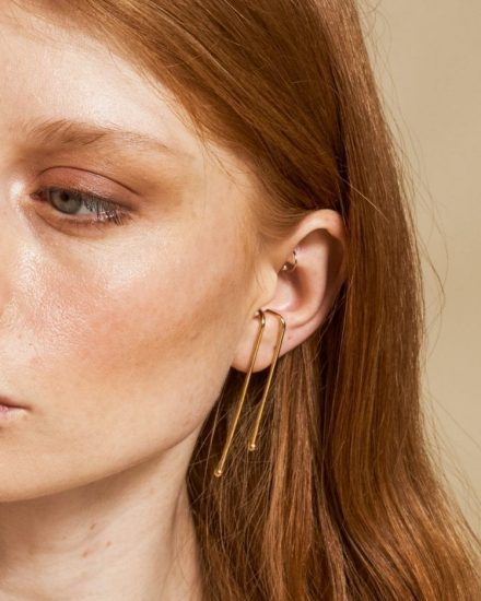 Universe earrings