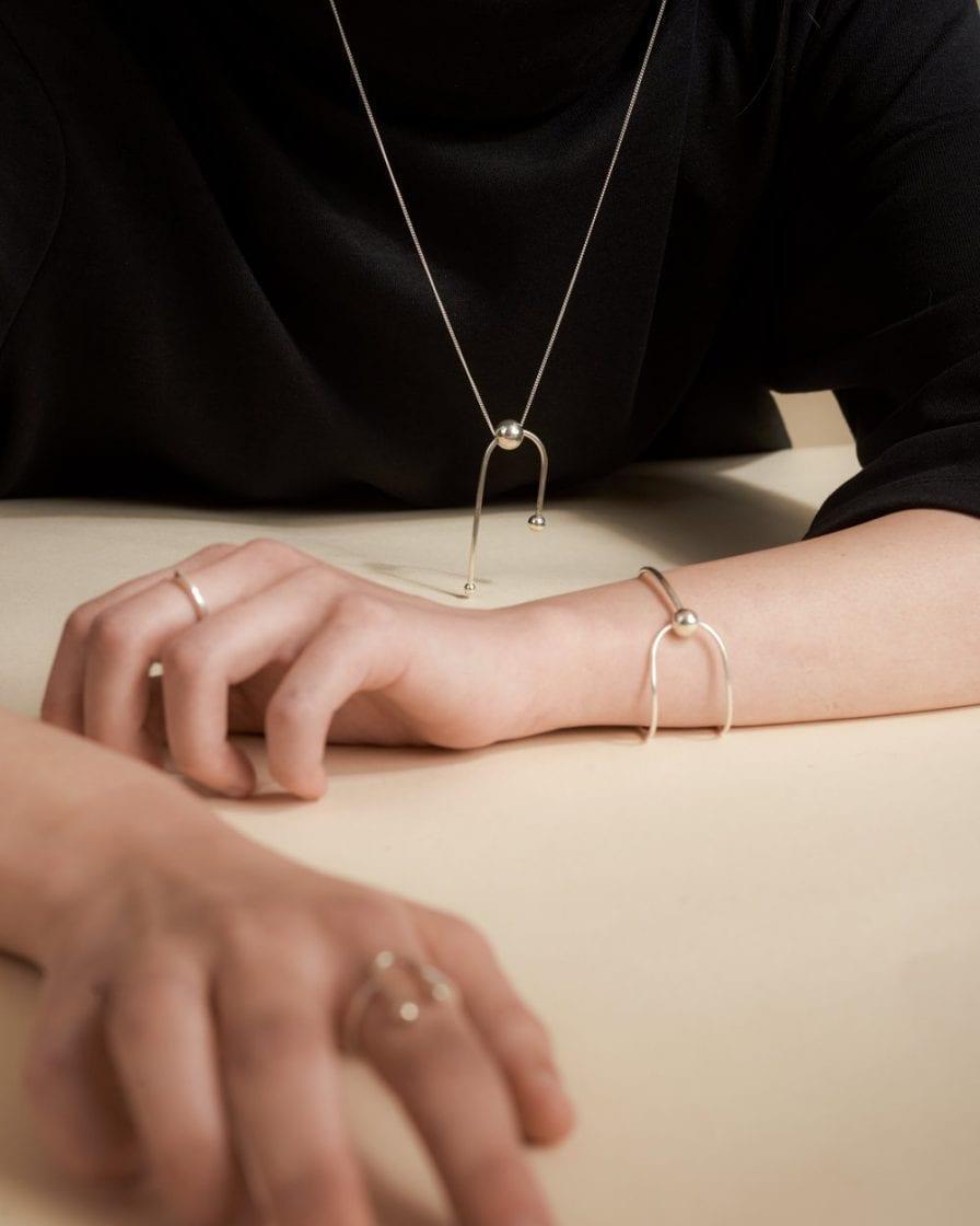 Andromeda Silver Necklace