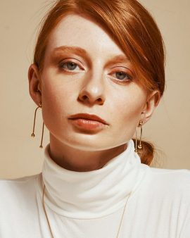 Andromeda Gold Earrings
