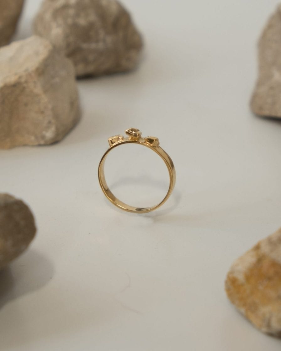 Argon Gold Ring