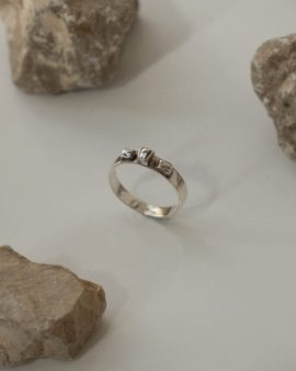 Argon Silver Ring