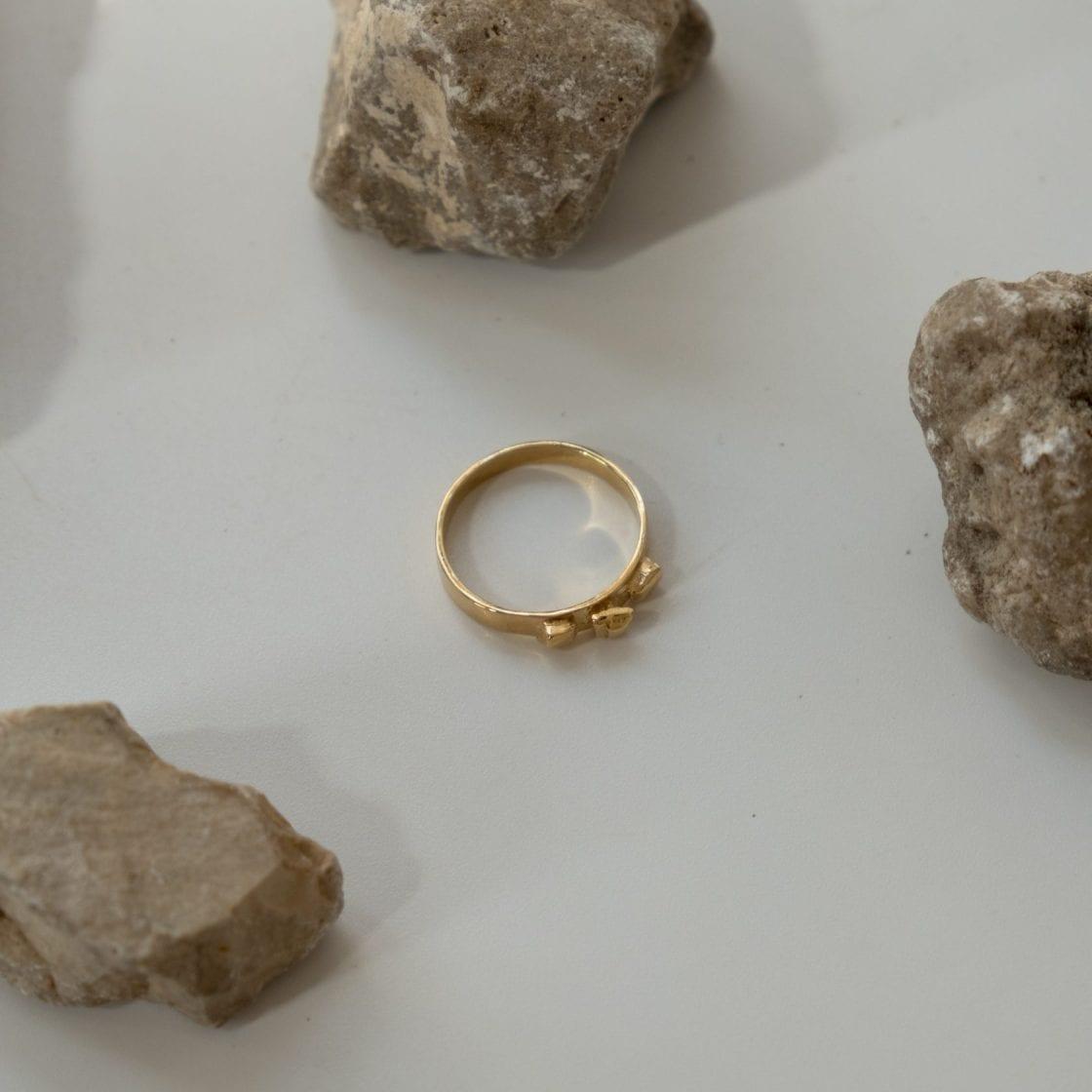 Argon 14K Gold Ring