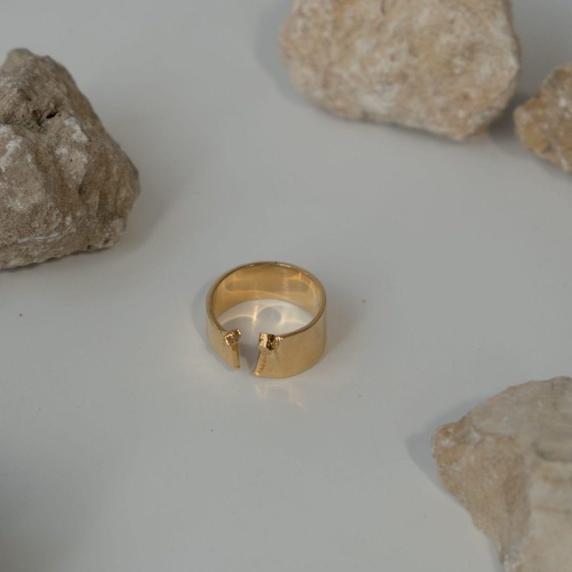 Sulfur 14K Gold Ring