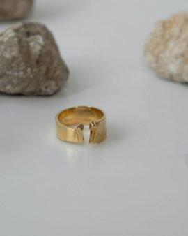 טבעת סולפרה זהב