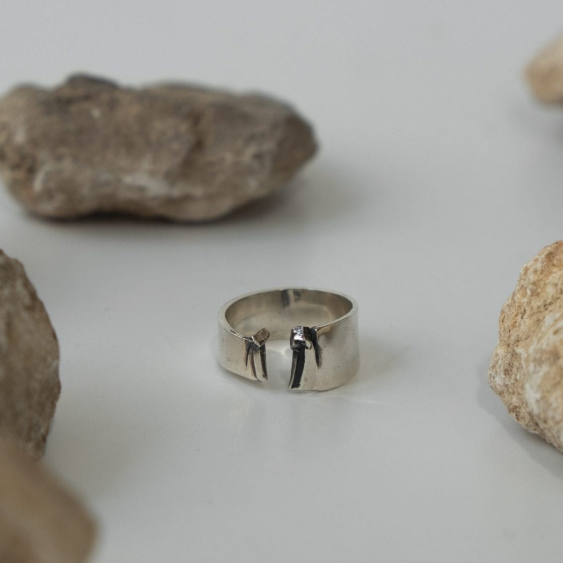 Sulfur Silver Ring