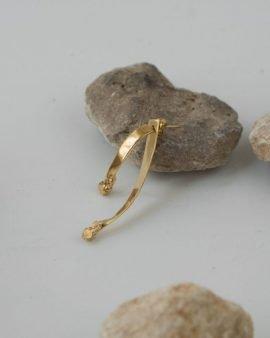 עגיל מרקורי זהב