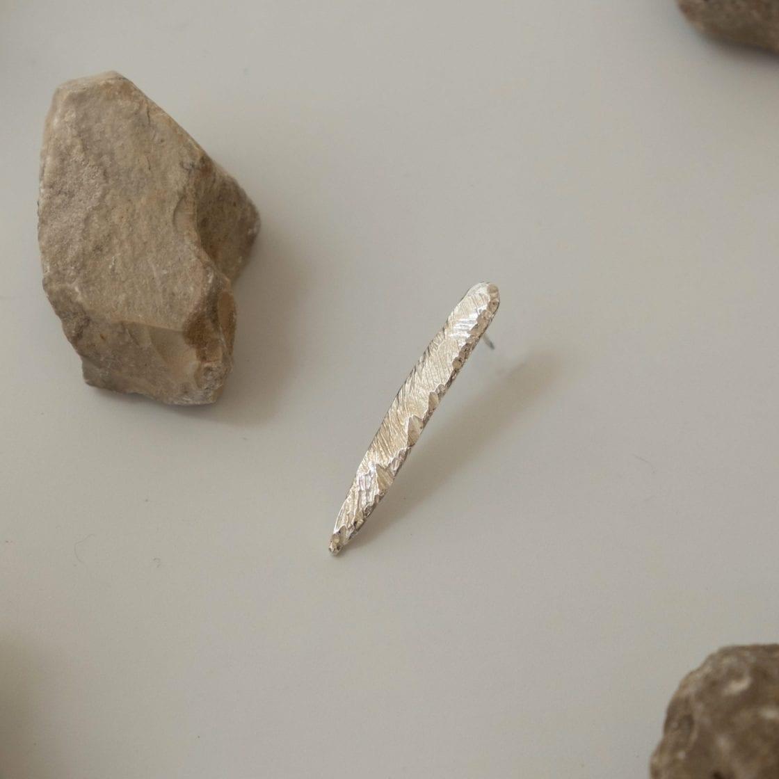 Terra Silver Earring