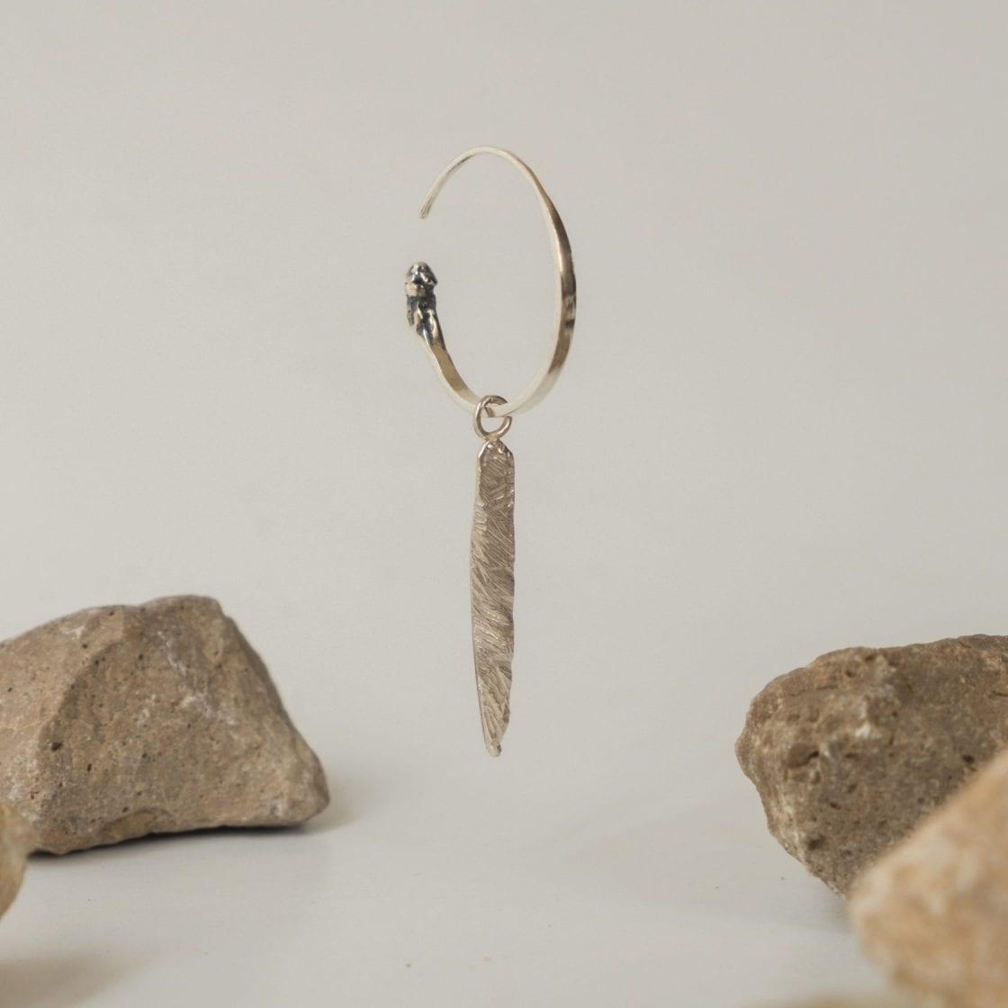 Gypsy Terra Silver Earring