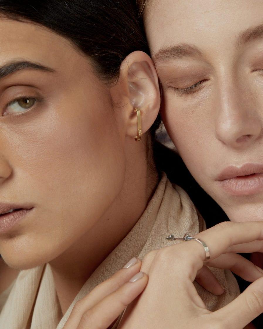 Argon Gold Earring