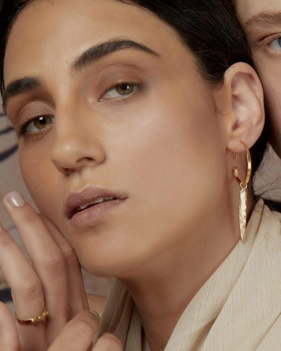 Gypsy Terra Gold Earring