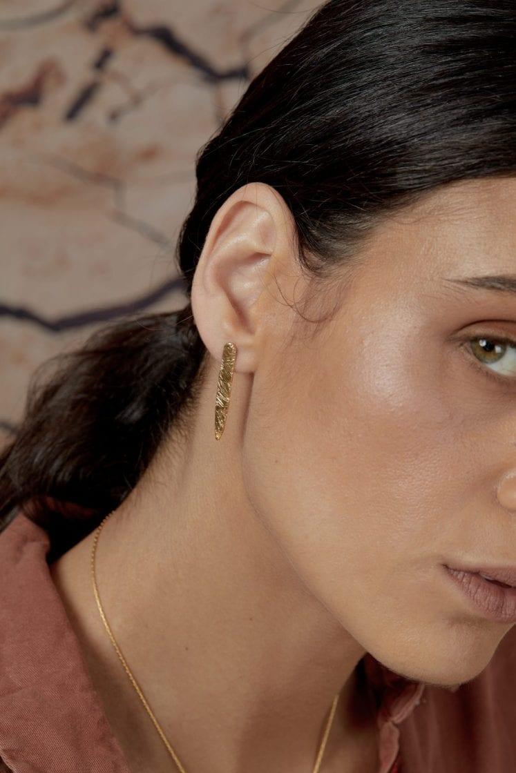 Terra Gold Earring