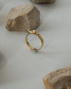טבעת ארגון זהב 9K