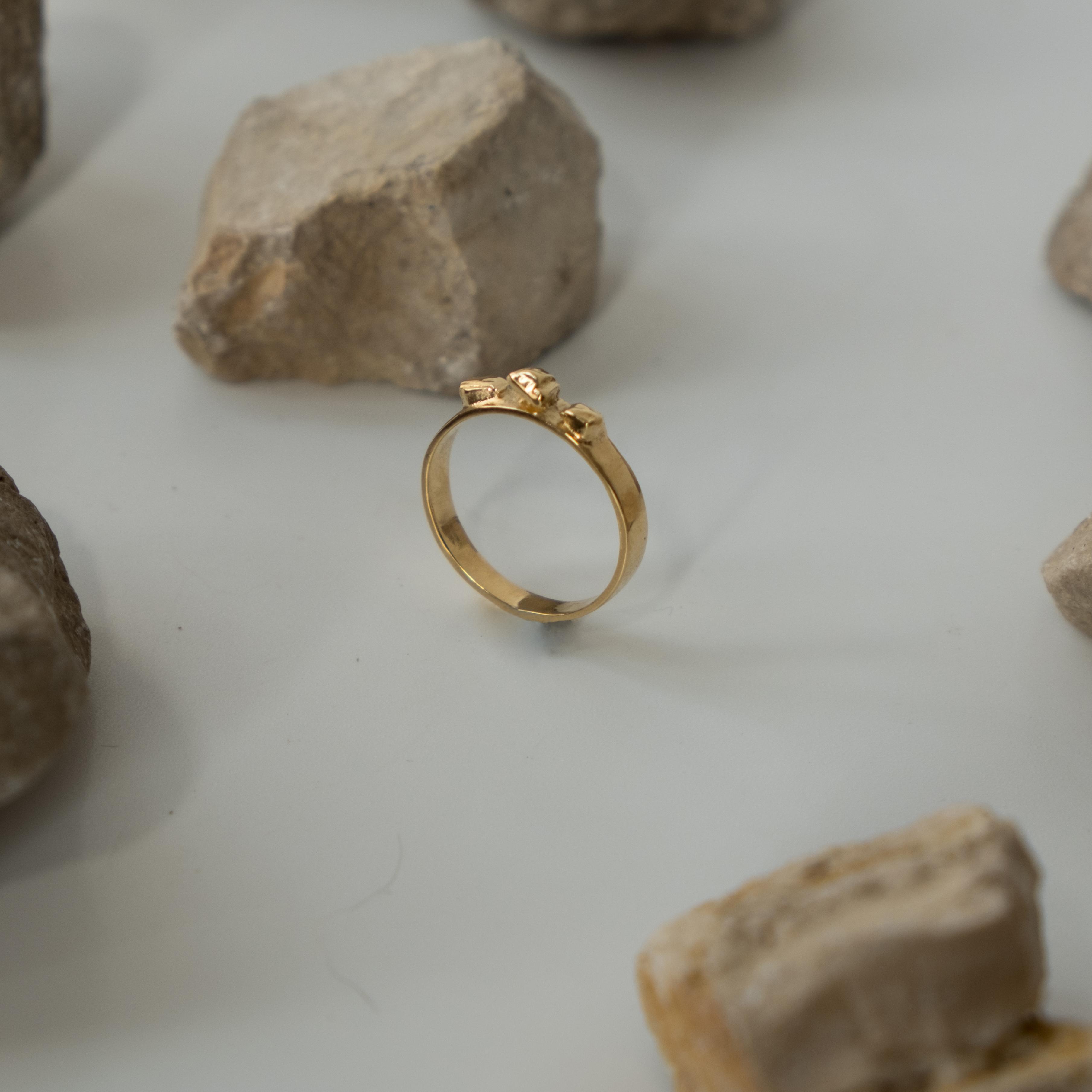 Argon 9K Gold Ring
